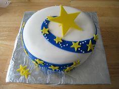 The Cake Cow: Shooting Star Pajama Birthday Parties, Kid Parties, Ramadan Decoration, Star Cupcakes, Pinterest Cake, Sea Cakes, Cake Icing, Occasion Cakes, Shooting Stars