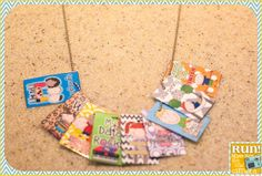 Student Brag Tags. She explains how/why/storage.... great blog post!
