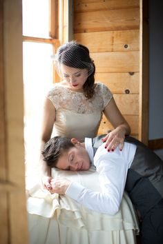 Exactly how I want my dress and how Deni will look like :) Such a beautiful picture!