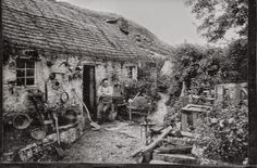 """""""Come, faint old man! and sit awhile / Beside our cottage door; / A cup of water from the spring, / A loaf to bless the poor, / We give with cheerful hearts, for God / Hath given us of his store."""" -- from """"The Old Man at the Cottage Door"""" by T.S. Arthur"""