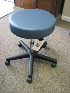 Winco 4300 Dental Medical Doctoru0027s Gas Lift Stool Chair  BlueRidge  ... & New budget saddle seat ergonomic medical dental tattoo office ... islam-shia.org