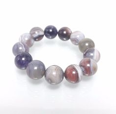 16 mm AAA Natural Quartz Brazil Crystal Beads Round Stretch Bracelet #Impressdeal #Bracelet