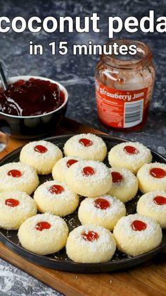 Jamun Recipe, Burfi Recipe, Chaat Recipe, Fun Baking Recipes, Sweet Recipes, Mini Pizza Recipes, Cooking Recipes, Indian Dessert Recipes, Fancy Cookies