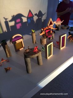 Early STEM & STEAM in Reggio Inspired Activities with Light Projector (via play at home mom llc.)