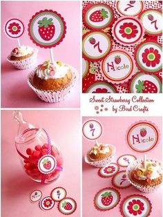 Strawberry Shortcake party ideas! Awwww, I can't wait for the day!