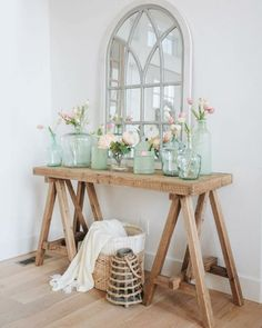 Console tables are neccessary for your entryway decor. Here's a collection of our favourite rustic/farmhouse narrow entryway console tables. Entryway Console Table, Entryway Decor, Console Tables, Cute Dorm Rooms, Cool Rooms, Living Room Designs, Living Room Decor, Living Area, Home Decor Inspiration