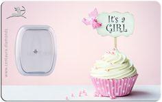 Centaura.Diamonds - Geschenkkarte - It's a GIRL