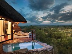 Extraordinary views are standard at our recommended #honeymoon lodges - this is Leopard Hills in the Sabi Sands. #Kruger #SouthAfrica #Africa #luxury #travel