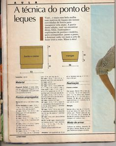 Receita Tricô Fácil   Revista MON TRICOT Tricô e Crochê   Ano 14 Nº1 jan,fev 1998   Revista Completa Tricô e Crochê   33 Modelos para vo...