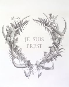 Je Suis Prest - I am ready. Its the perfect gift for Outlander fans, and is a beautiful reminder of the stories and characters we have come to Outlander Tattoos, Outlander Quotes, Outlander 3, Fergus Outlander, Outlander Gifts, Gabaldon Outlander, Large Art Prints, Outlander Book Series, Jamie Fraser