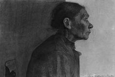 Paula Modersohn-Becker  German, 1876-1907, Portrait of a Peasant Woman
