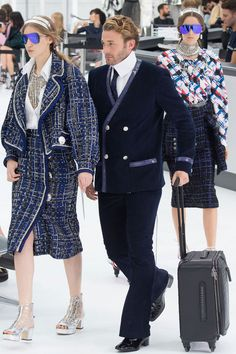 11 Things You Must See From Chanel's Airport-Themed Runway Show