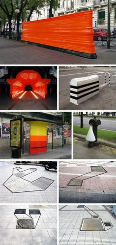 Artist Creates Improvised Sculptures by Wrapping Street Furniture in Duct Tape