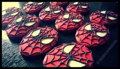 #handmade #cookies #Spiderman #food #sweet