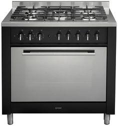 Indesit KP9F11SXG range cooker