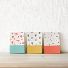 Notebook collection Textile Design, Office Supplies, Notebook, Textiles, Projects, Christmas, Collection, Log Projects, Xmas