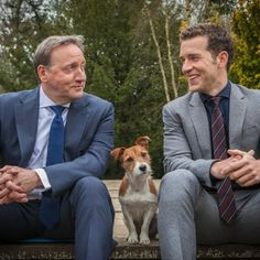 DCI Barnaby is getting a new companion in Midsomer Murders as Sykes the dog retires Nick Hendrix, English Drama, Bbc Tv Shows, Midsomer Murders, Rescue Puppies, Tv Detectives, Bbc Drama, Mystery Series, Murder Mysteries