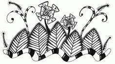 Kai-Zen Doodles: Wicked Garden