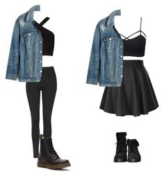"""""""Tumblr grunge"""" by stylemusiclife on Polyvore featuring Topshop, Wet Seal, BCBGMAXAZRIA, Madewell, Zara and Dr. Martens"""