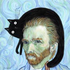 VAN GOGH'S CAT – Terry Runyan Creative