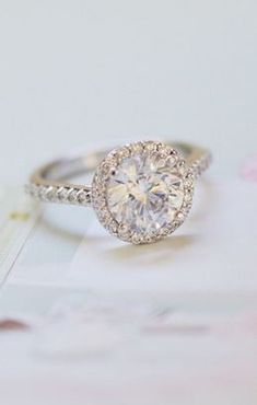 Simply stunning diamond ring.