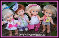 "galoob baby face doll - ""Google"" paieška"