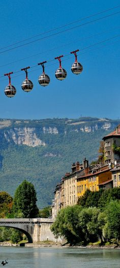 Travelling - Grenoble, France