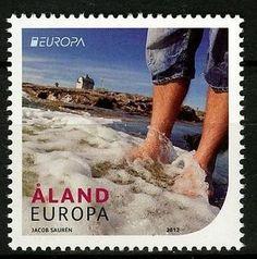 Aland Islands- 2012 Europa CEPT MNH