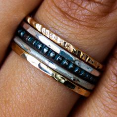 Rings and things for stacking
