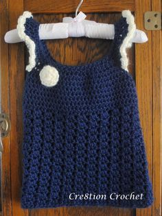 Crochet Toddler Dress on Pinterest Crochet Toddler, Toddler Dress and Croch...