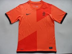 12-13 Holland Home Soccer Jersey Shirts Top Thai Quality