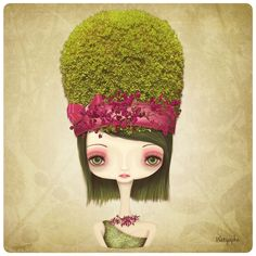 Greensela. by ♥ wÄt Yaphê ♥, via Flickr