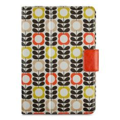 Belkin Orla Kiely Summer Flower Case for iPad mini/mini with Retina Display, Cream /Mustard (F7N111ttC01) Color: Cream / Mustard Portable Consumer Electronic Gadget Shop