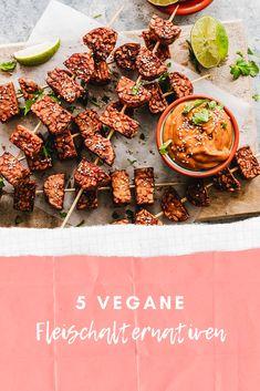 Meinte Tipps für klassische, vegane Fleischalternativen die sogar Nicht-Veganer überzeugen. Tempeh, Pulled Pork, Rock, Plant Based Foods, Savoury Dishes, Asian Cuisine, New Recipes, Vegans, Shredded Pork