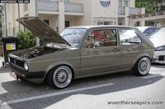 VW Golf Mk1 | by Retro-Motoring & WoertherseePics
