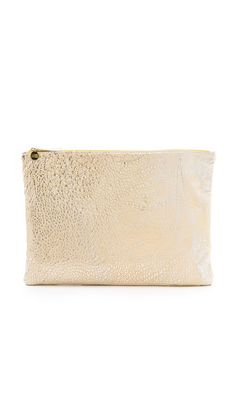 oversized clutch / shopbop-really cute and bigger than depicted in this pic.  Check it out.  Love the size!!!