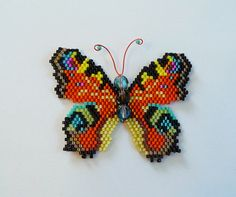 Peacock Butterfly PDF Pattern and Tutorial by WizardIslandDesigns