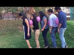 Team Building Activities – Balloon Race – Holiday and camping ideas Team Games For Kids, Building Games For Kids, Youth Group Games, Games For Teens, Youth Groups, Outdoor Team Building Activities For Adults, Funny Group Games, Funny Games For Kids, Family Reunion Games