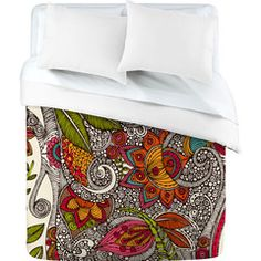 Design and order your own duvet, shower curtain, blanket, etc.