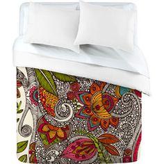 Design and order your own duvet, shower curtain, blanket, etc.