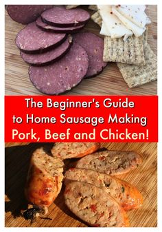 Stop being a hack at the grill and get the skills you need to become a Backyard BBQ Legend today. You will learn exactly how I turn out KILLER barbecue using nothing but a simple Weber kettle. The Beginner's Guide to Smoking Meat on a Weber Kettle has ov Homemade Summer Sausage, Summer Sausage Recipes, Chicken Sausage Recipes, Homemade Sausage Recipes, Homemade Bbq, Smoked Beef Short Ribs, Smoked Pork, Smoked Sausages, Grilling Recipes