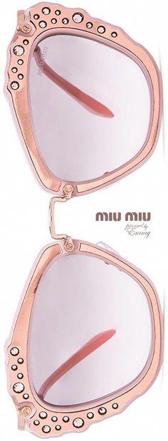 4314f30250b MIU MIU Embellished Cat Eye  sunglasses  swarovski  MiuMiu Swarovski