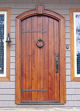 Old World Exterior Wood Front Entry Door DbyD-3010