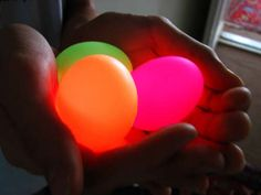 DIY Glowing Eggs