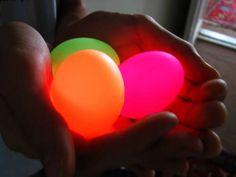 DIY Glowing Eggs