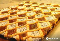 Berlini sütemény | NOSALTY Hungarian Desserts, Hungarian Cake, Hungarian Recipes, Hungarian Food, Poppy Cake, Food Humor, Sweet Tooth, Berlin, Food And Drink