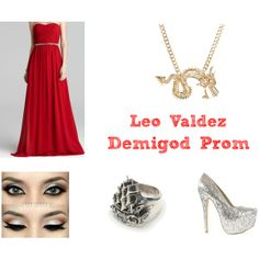 """""""Demigod Prom"""" by beccakat on Polyvore"""