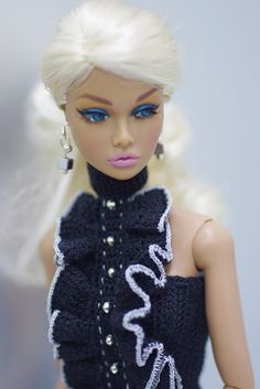 Fashion royalty knit Poppy Parker Sweet Confection