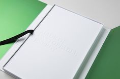 "Press kit ""Énergie de Vie"" — Box with its book — With our typeface Marie Louise…"
