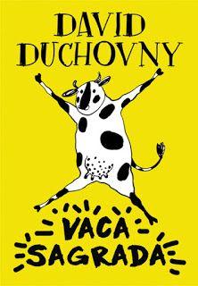 "Clube dos Livros: Passatempo - ""Vaca Sagrada"" de David Duchovny   Sa..."